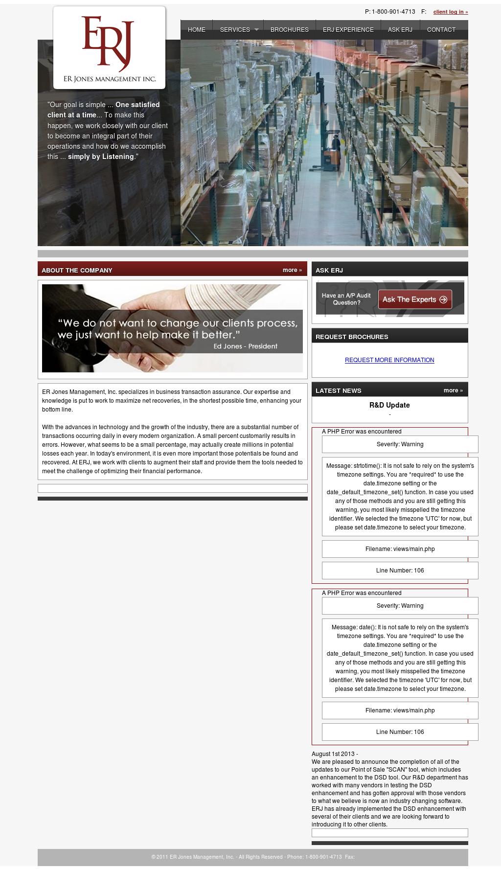 Ed Jones Login >> Er Jones Management Competitors Revenue And Employees