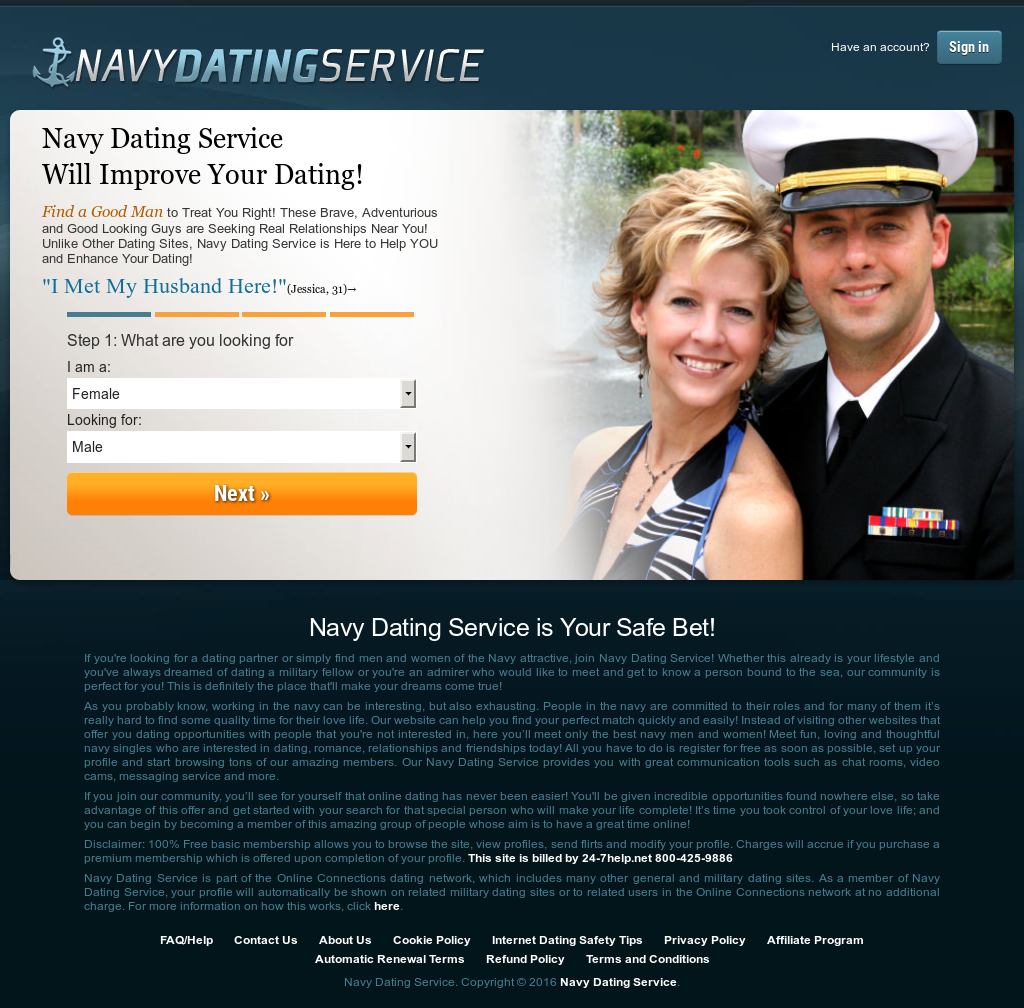 Us navy online dating