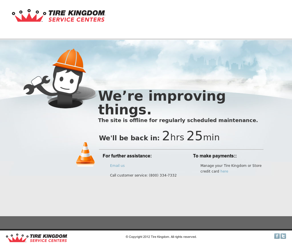 Tire Kingdom Oil Change Coupons >> Tire Kingdom Credit Card Payments