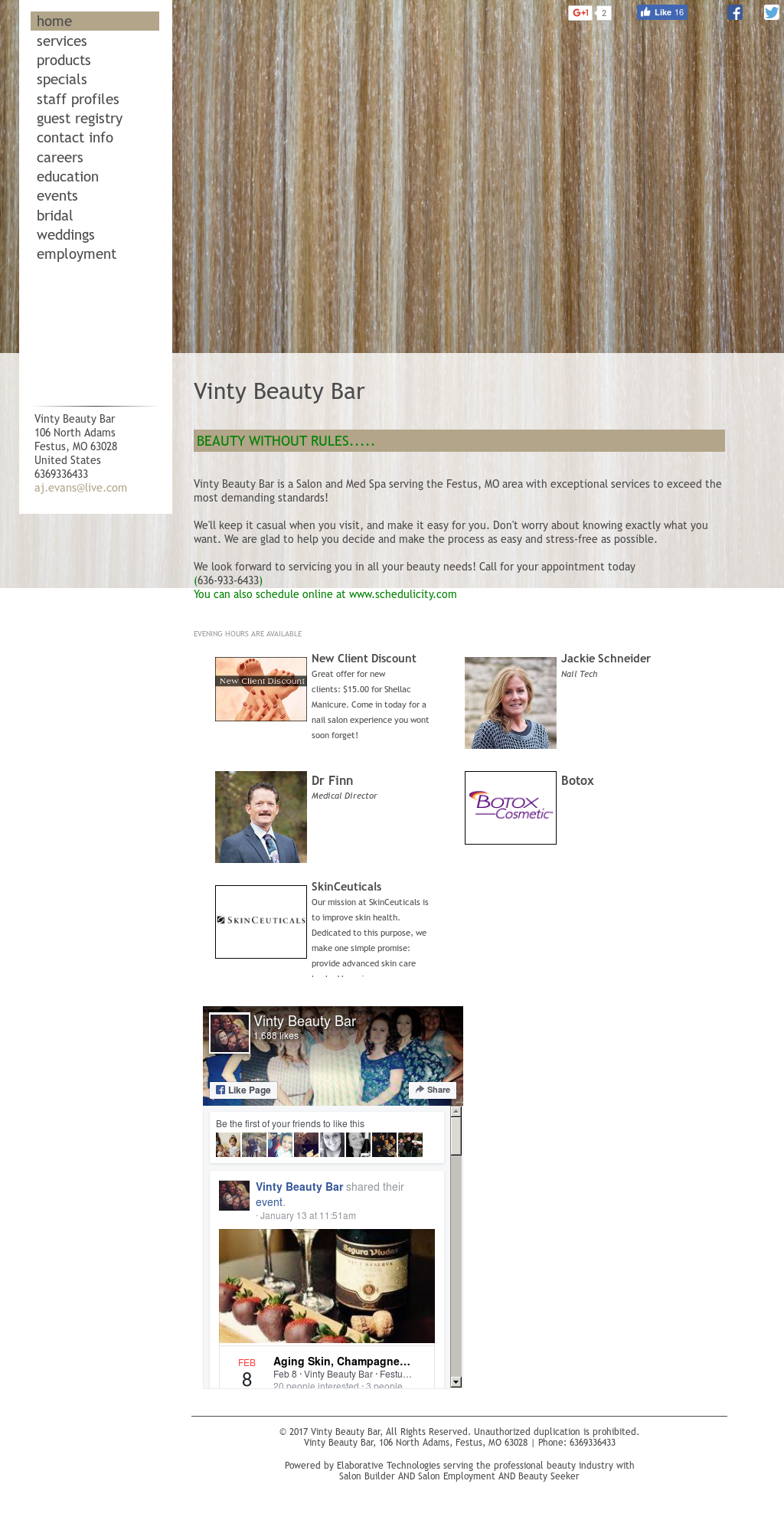 Vinty Beauty Bar Competitors, Revenue and Employees - Owler Company ...