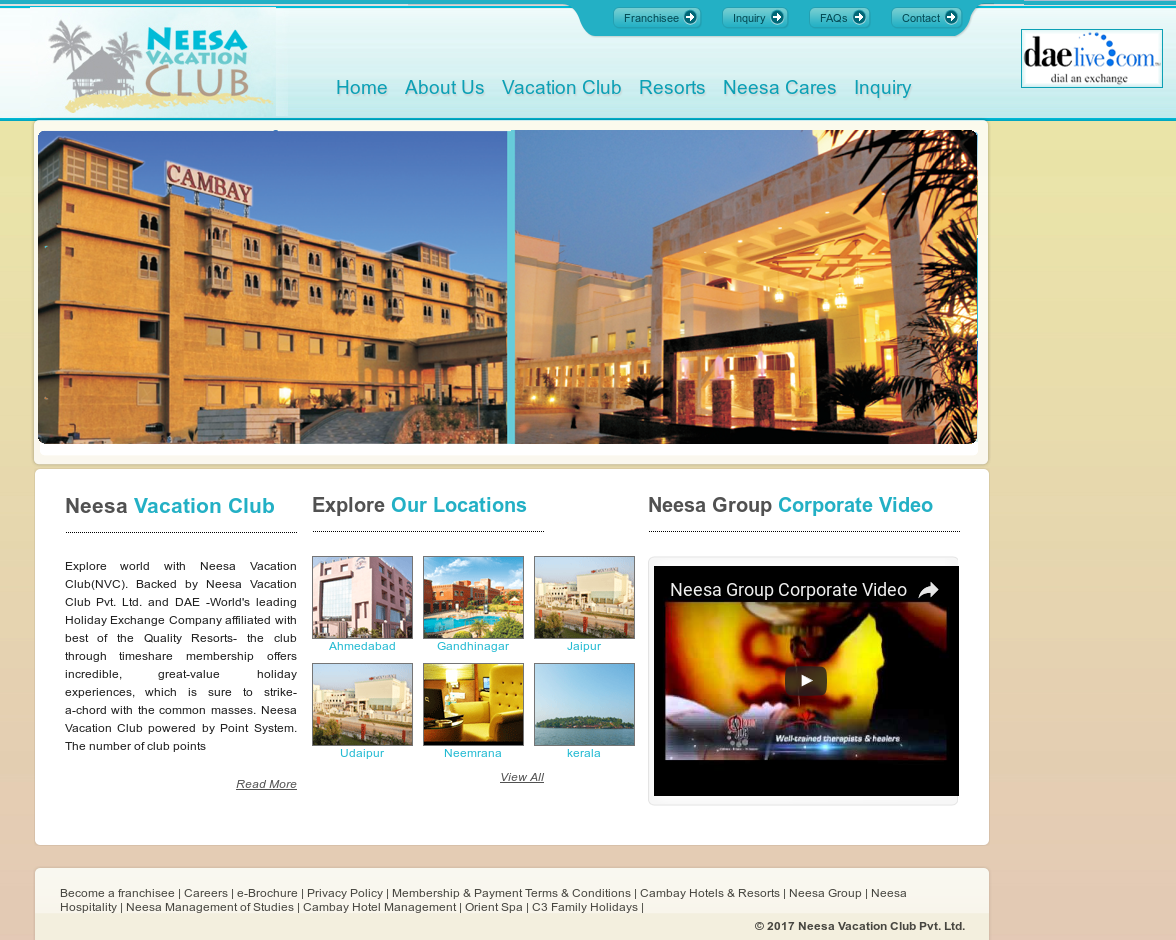Neesa Vacation Club Competitors, Revenue and Employees