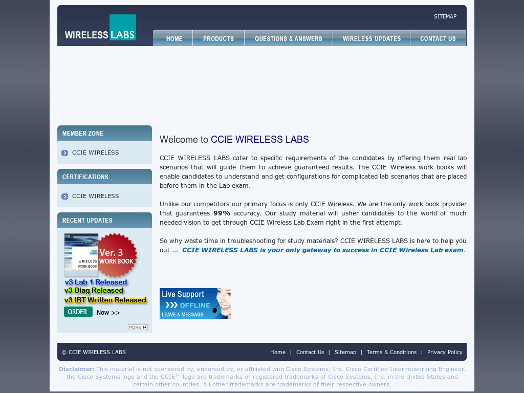 Ccie Wireless Labs Competitors, Revenue and Employees - Owler