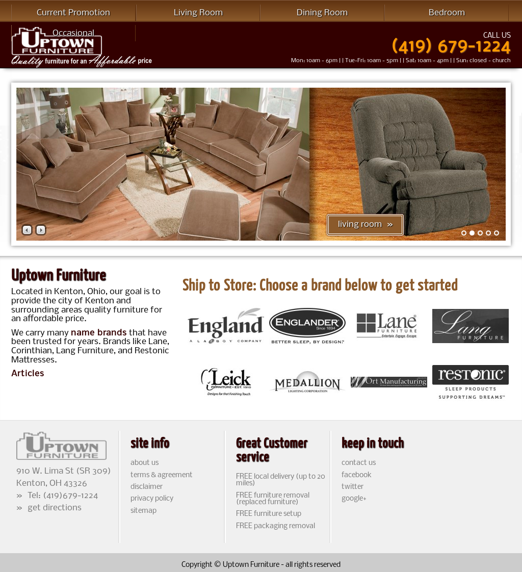 Uptown Furniture Compeors Revenue And Employees Owler Company Profile