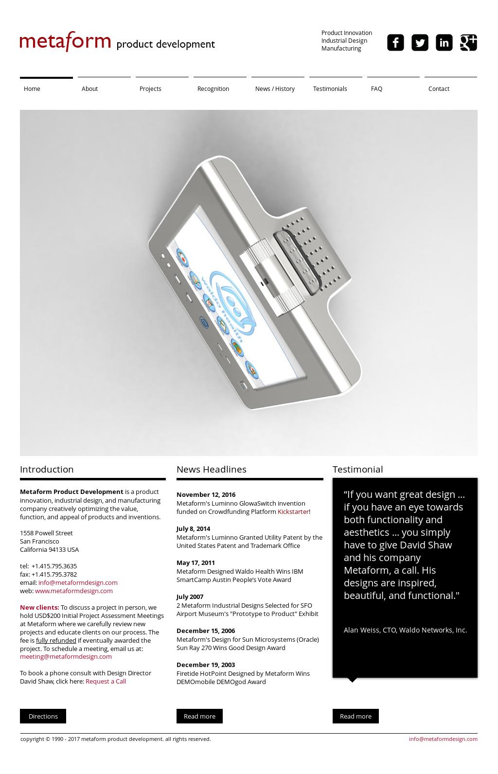 Metaformdesign Competitors, Revenue and Employees - Owler Company