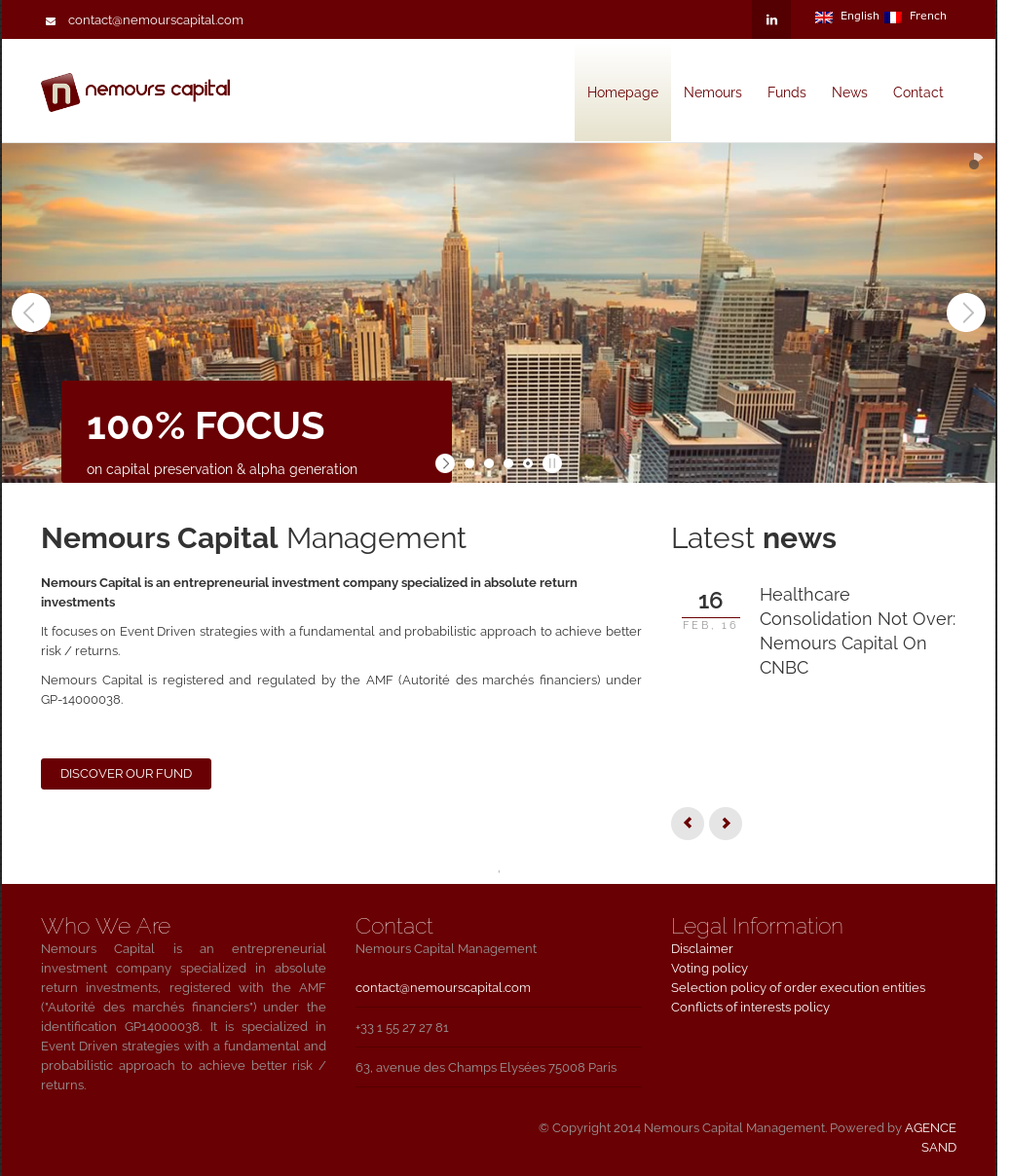 Nemours Capital Management Competitors, Revenue and Employees