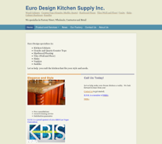 Euro Design Kitchen Supply Compeors Revenue And