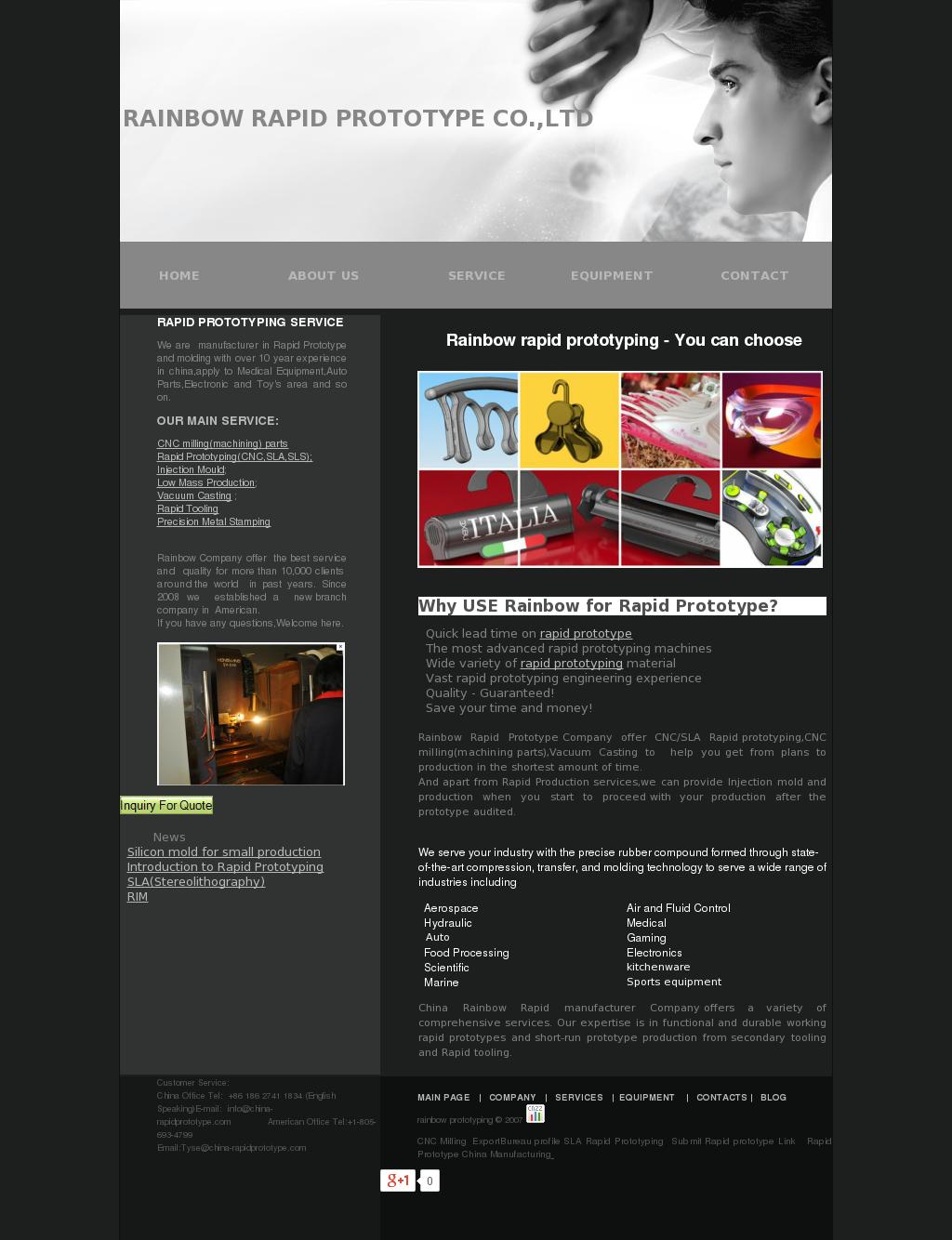 Rainbow Rapid Prototype Competitors, Revenue and Employees - Owler