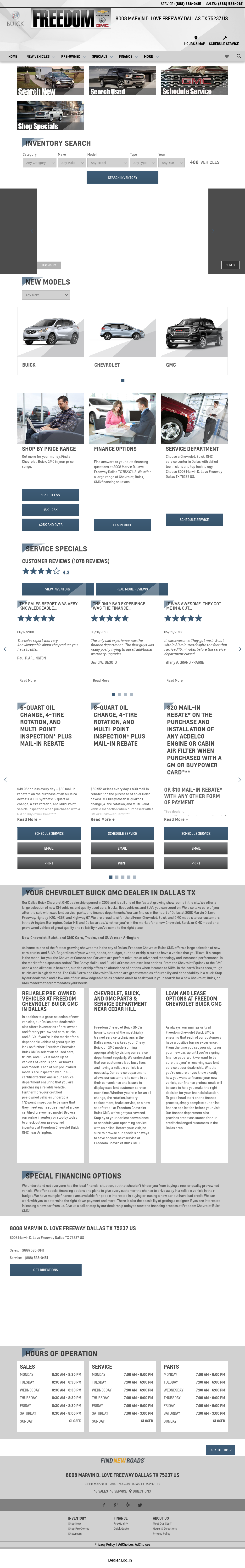 Freedomchevydallas Competitors, Revenue and Employees