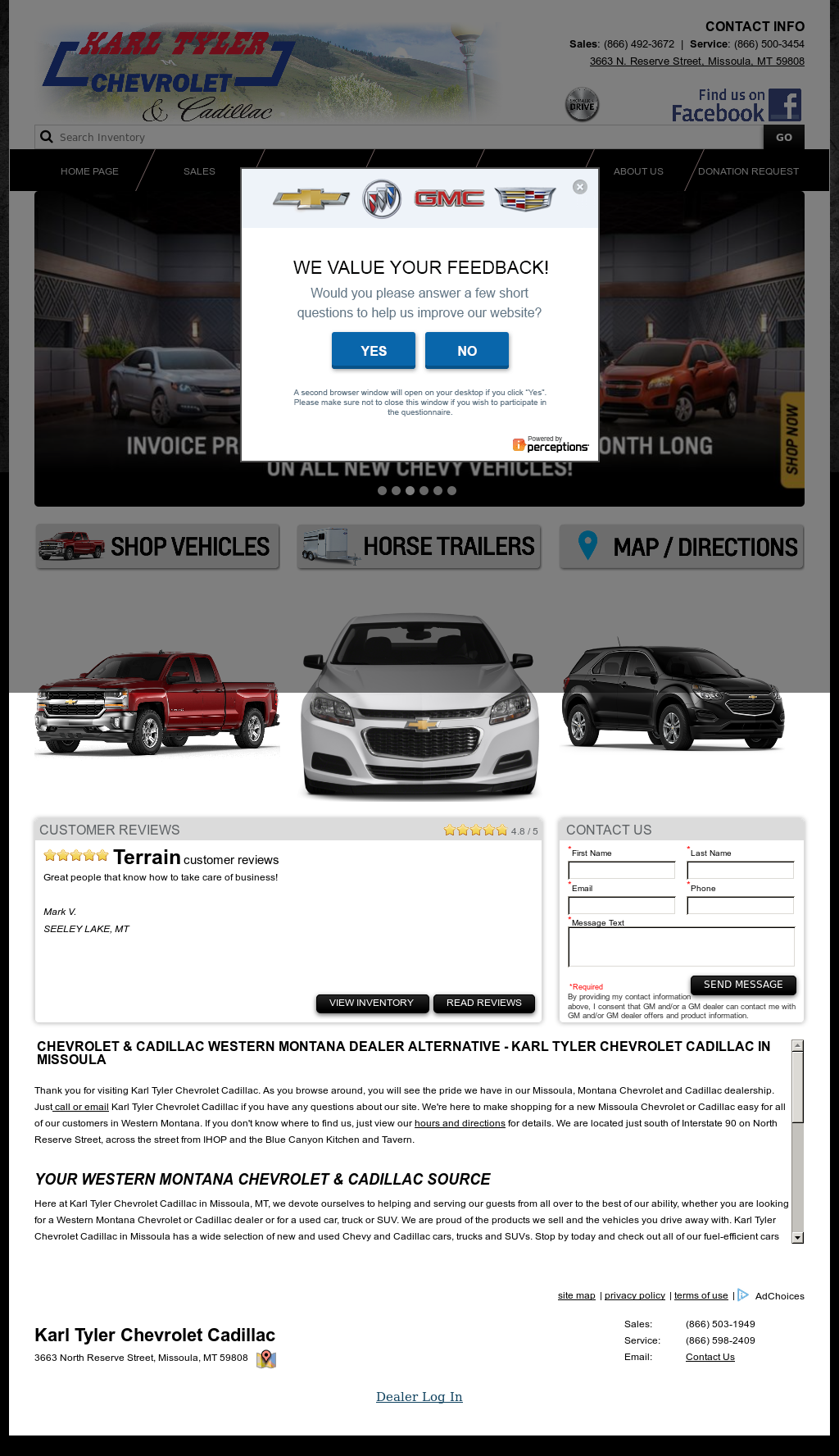 Karl Tyler Chevrolet Competitors, Revenue And Employees   Owler Company  Profile