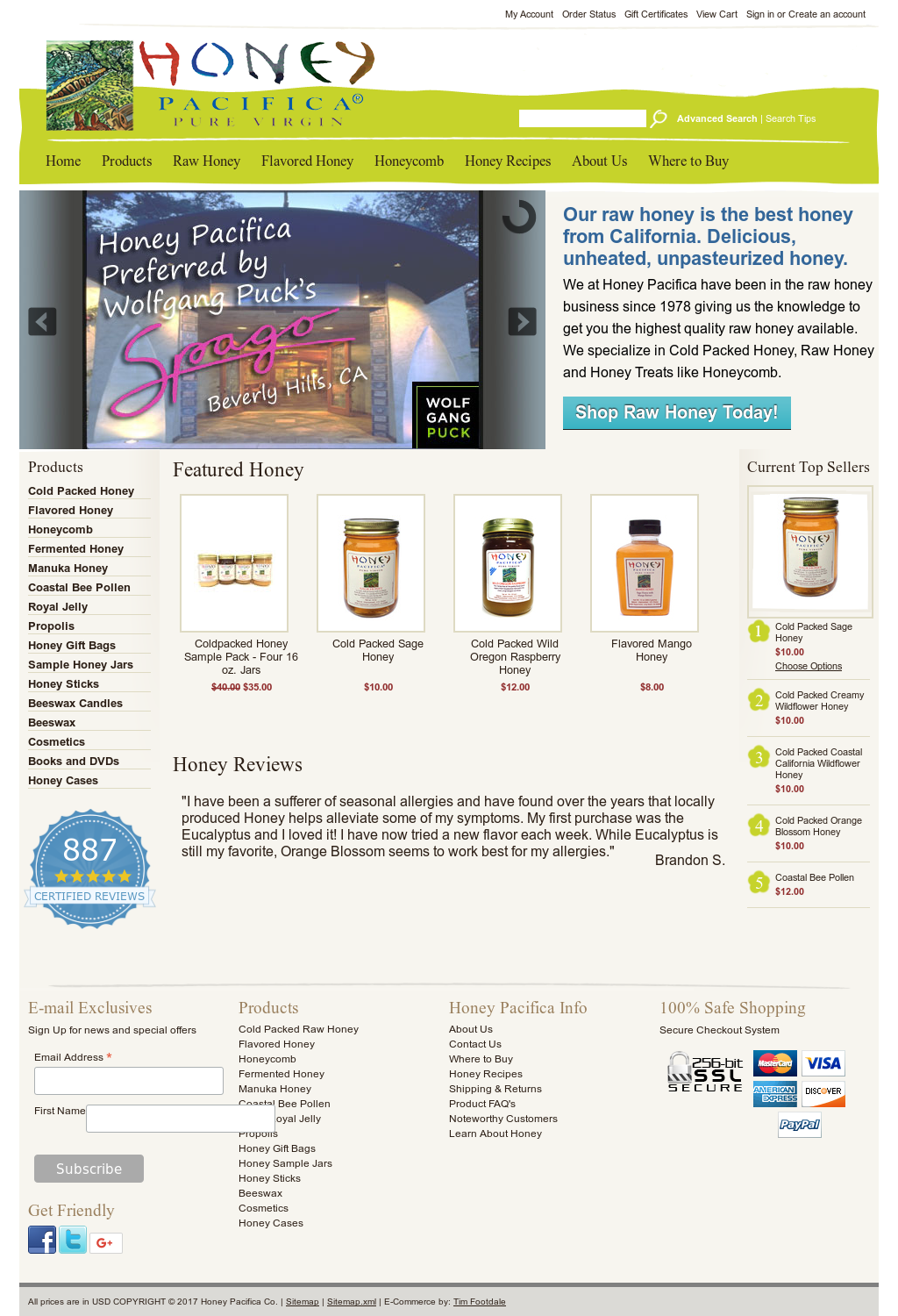 honey pacifica competitors revenue and employees owler company