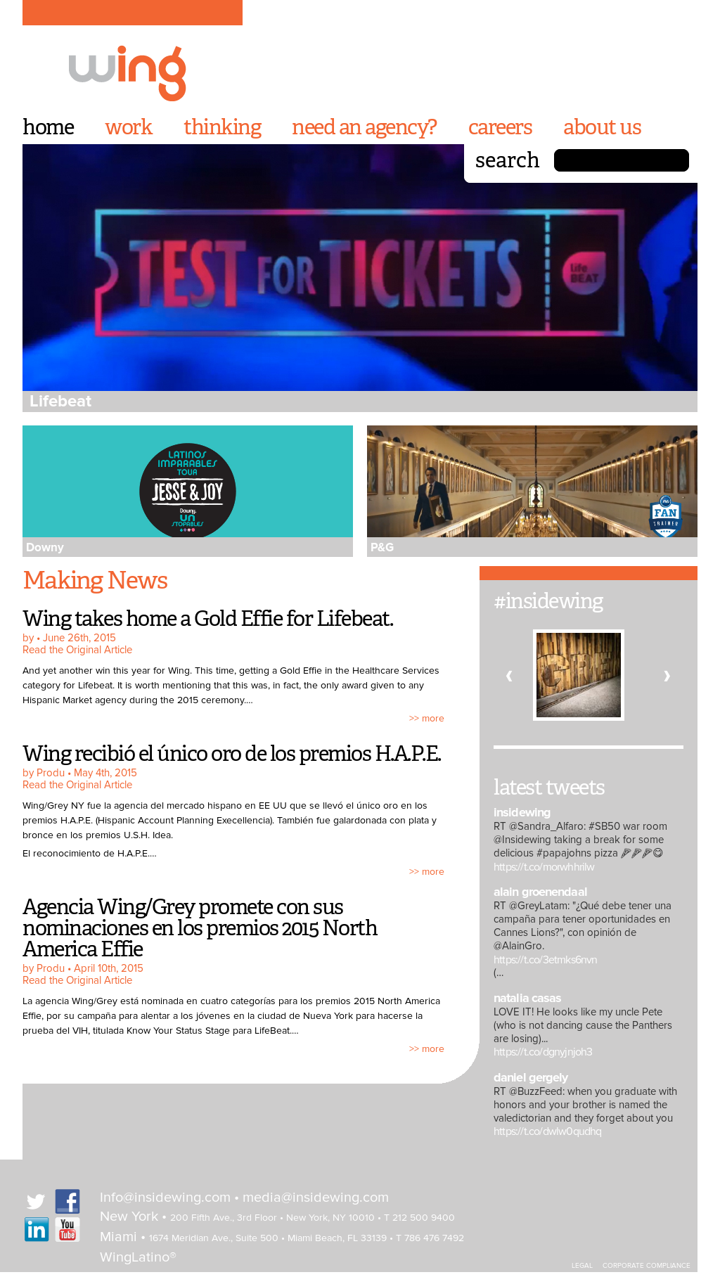 Insidewing S Latest News Blogs Press Releases Videos