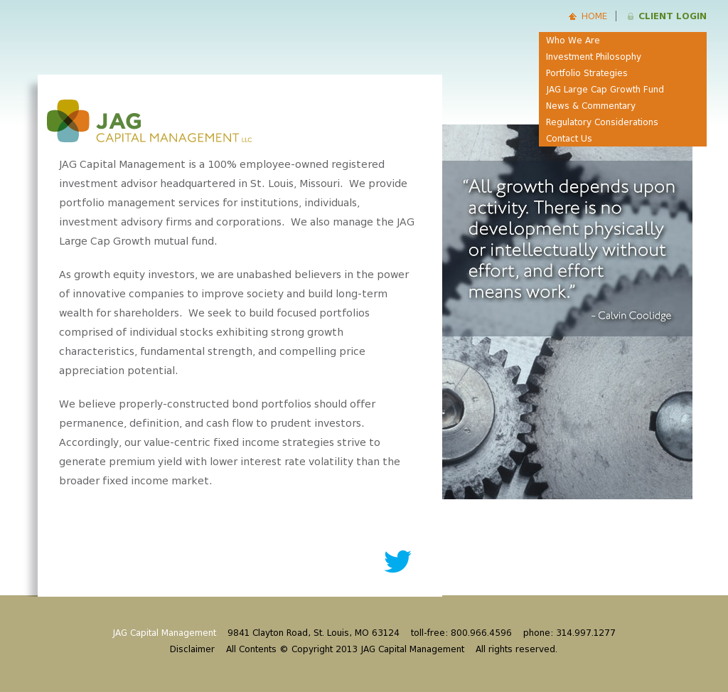 JAG Capital Management Competitors, Revenue and Employees - Owler
