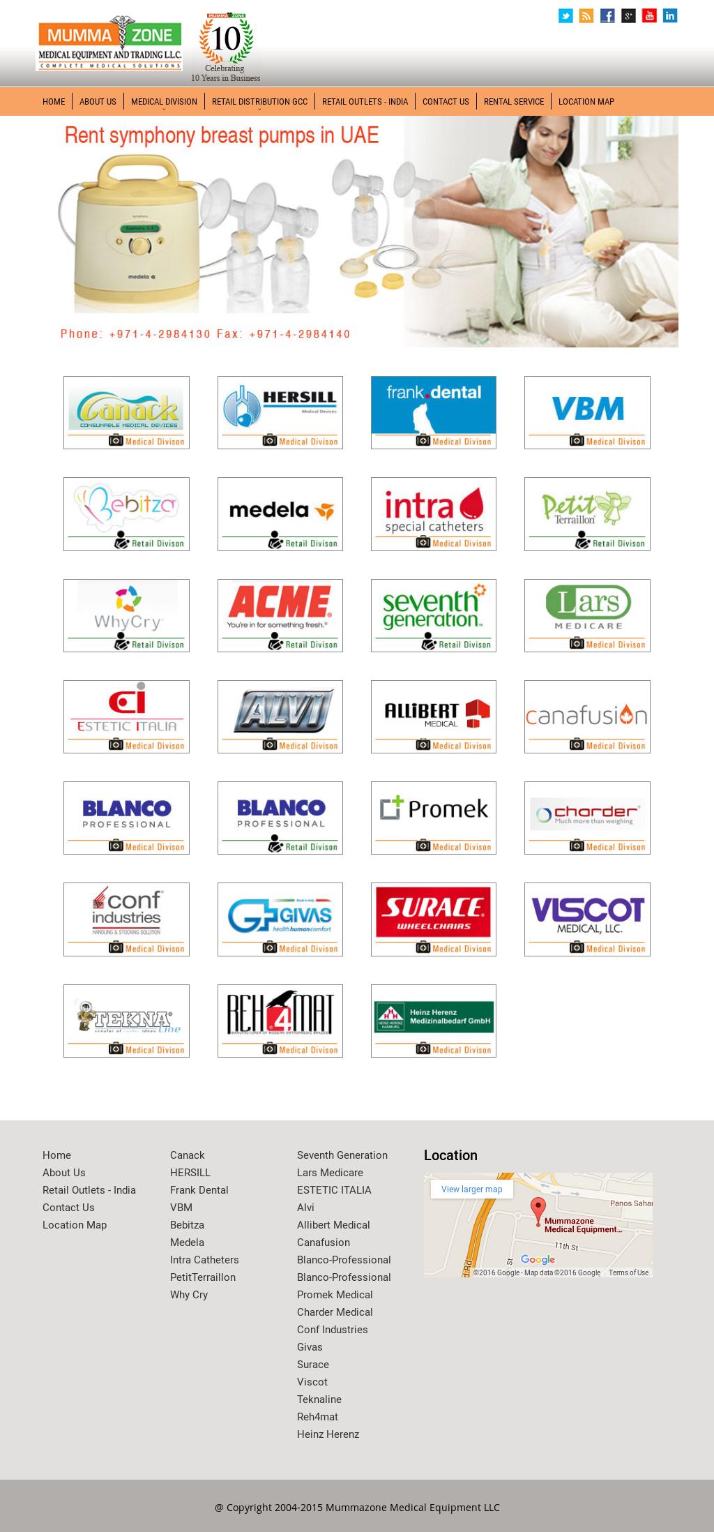 Mummazone Medical Equipment And Trading Competitors, Revenue