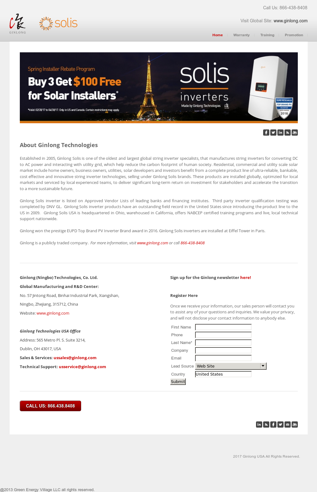 Ginlong Solis Pv Inverters Competitors, Revenue and