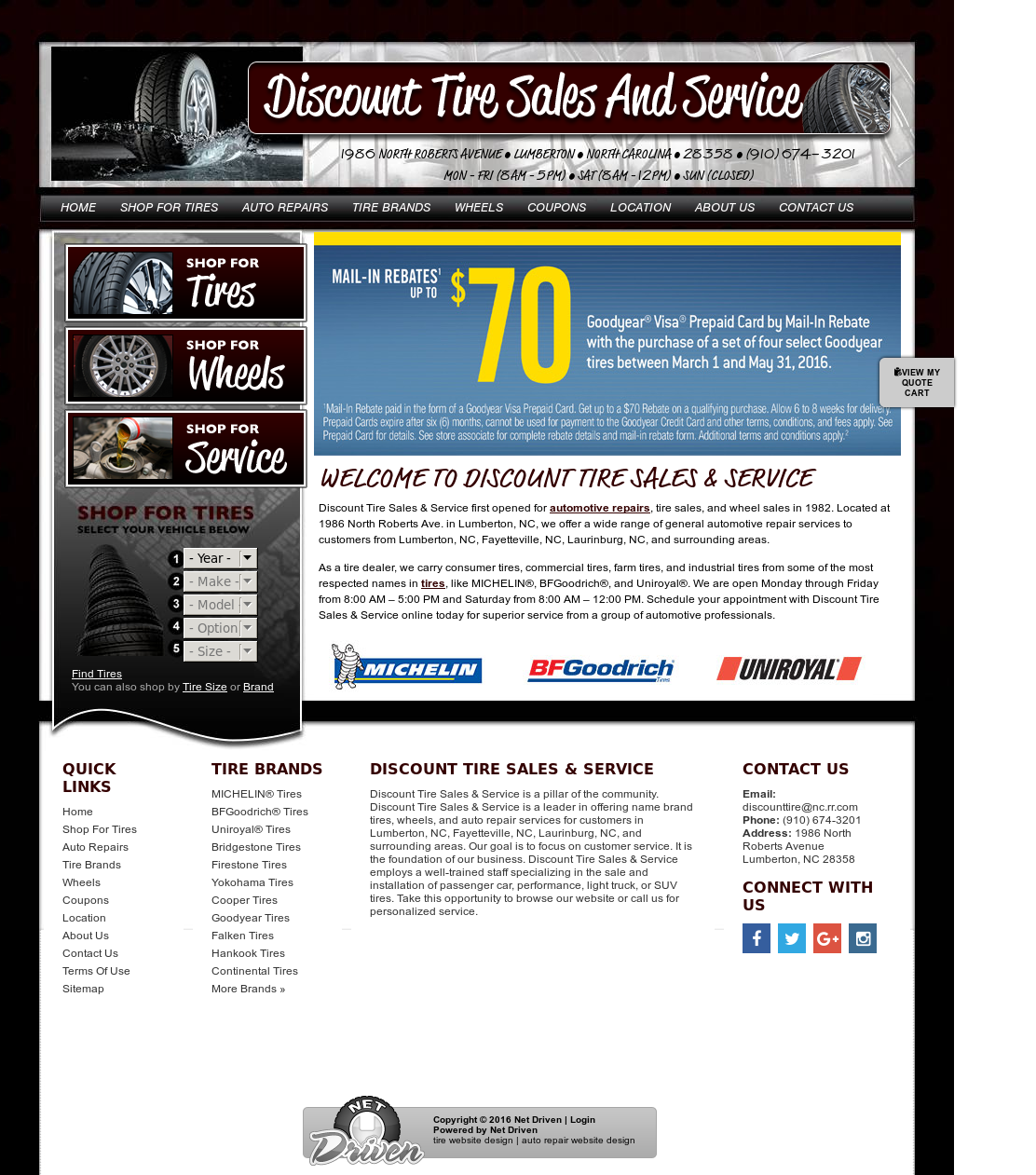 Discount Tire Sales Service Competitors Revenue And Employees