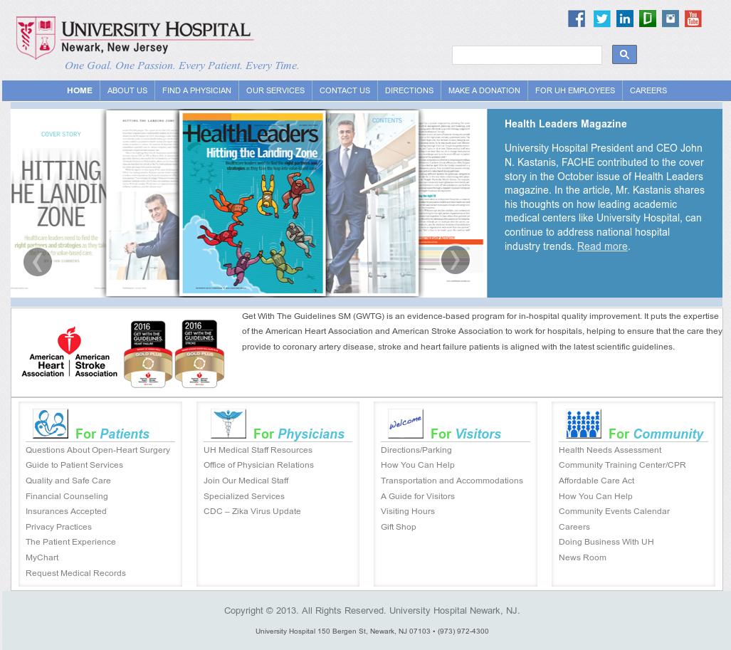 University Hospital Newark Competitors, Revenue and Employees