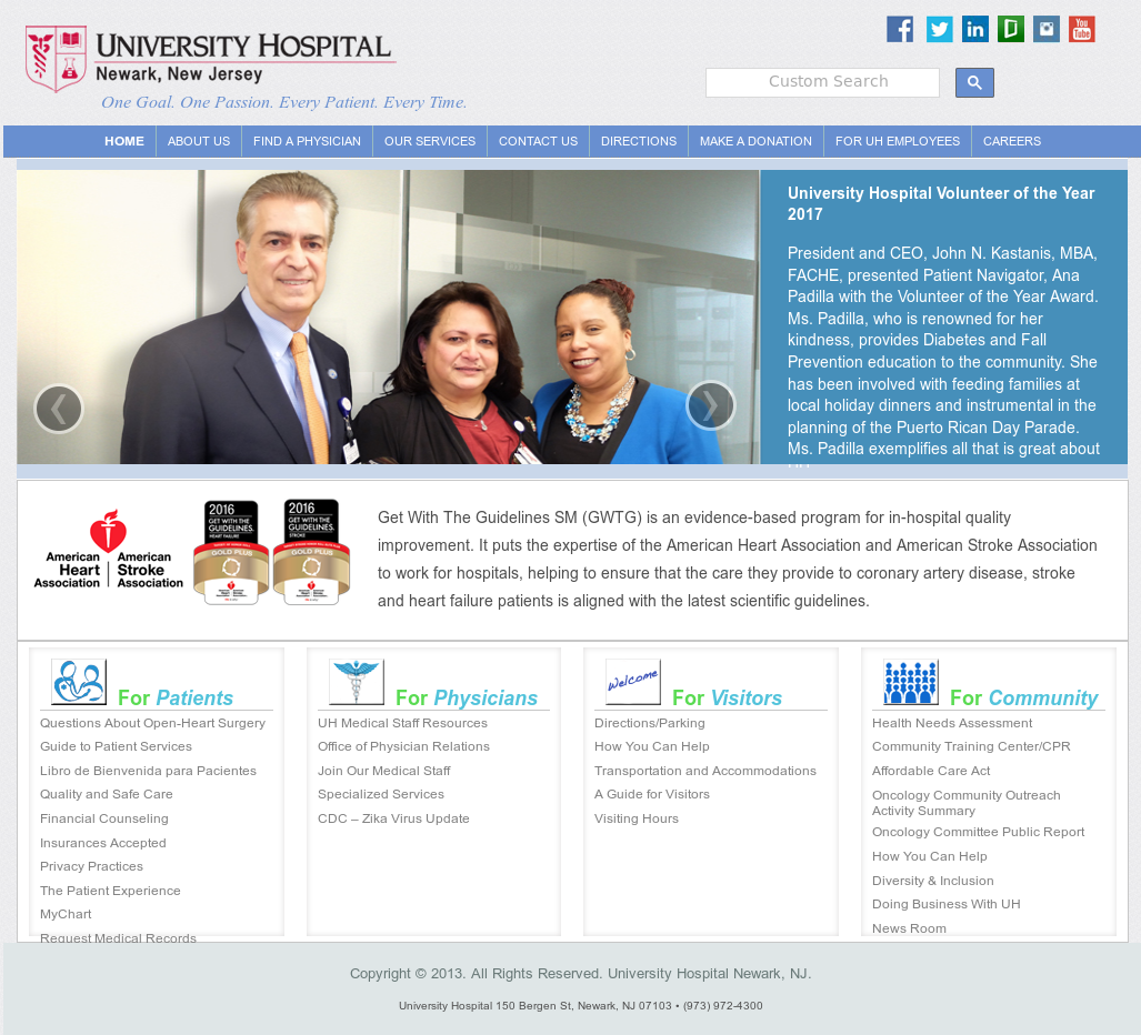 University Hospital Newark Competitors, Revenue and Employees