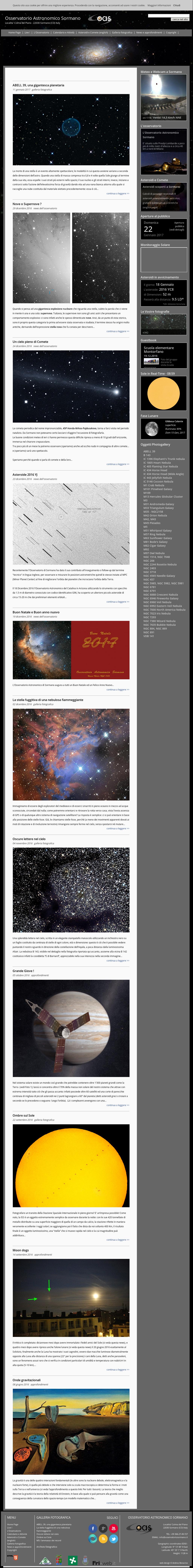 Osservatorio Astronomico Sormano Competitors Revenue And Employees