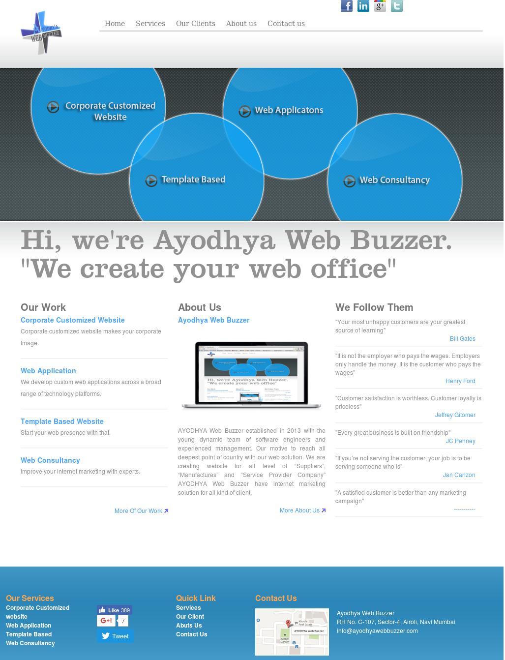 Ayodhya Web Buzzer Competitors, Revenue and Employees - Owler