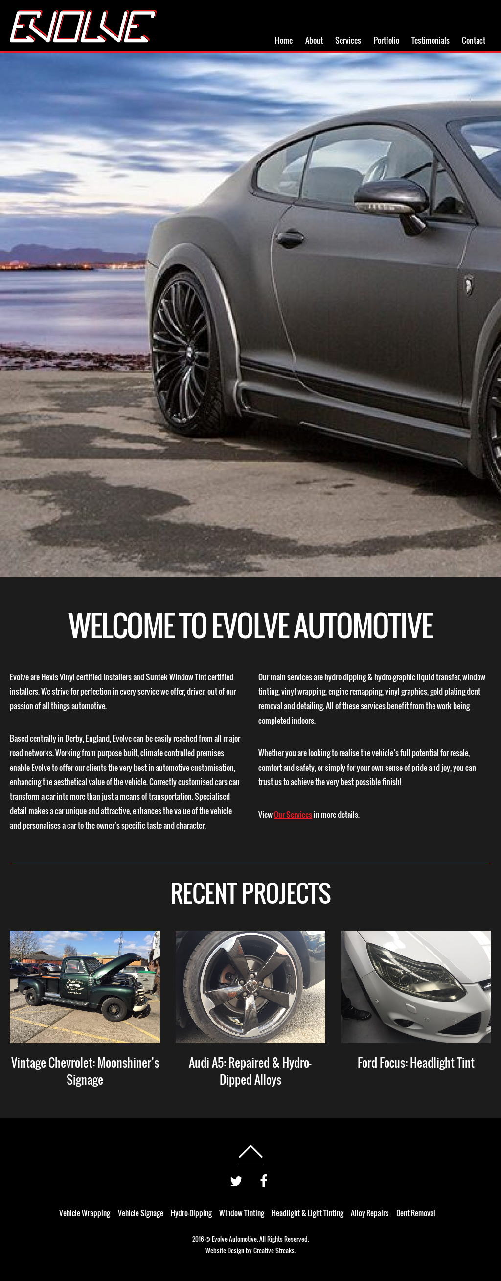 Evolve Automotive Derby Competitors, Revenue and Employees