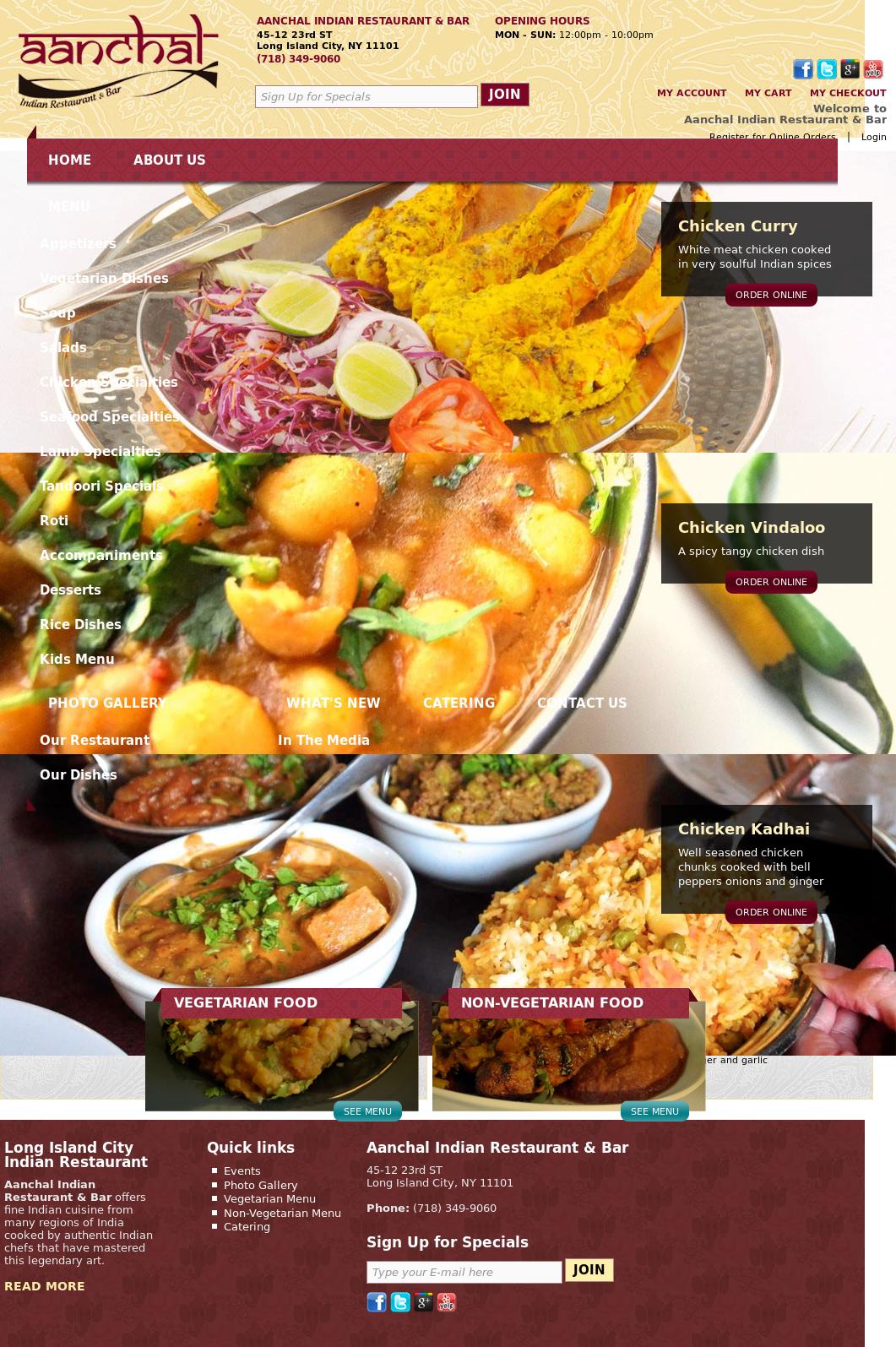 Aanchal Indian Restaurant Bar Competitors Revenue And