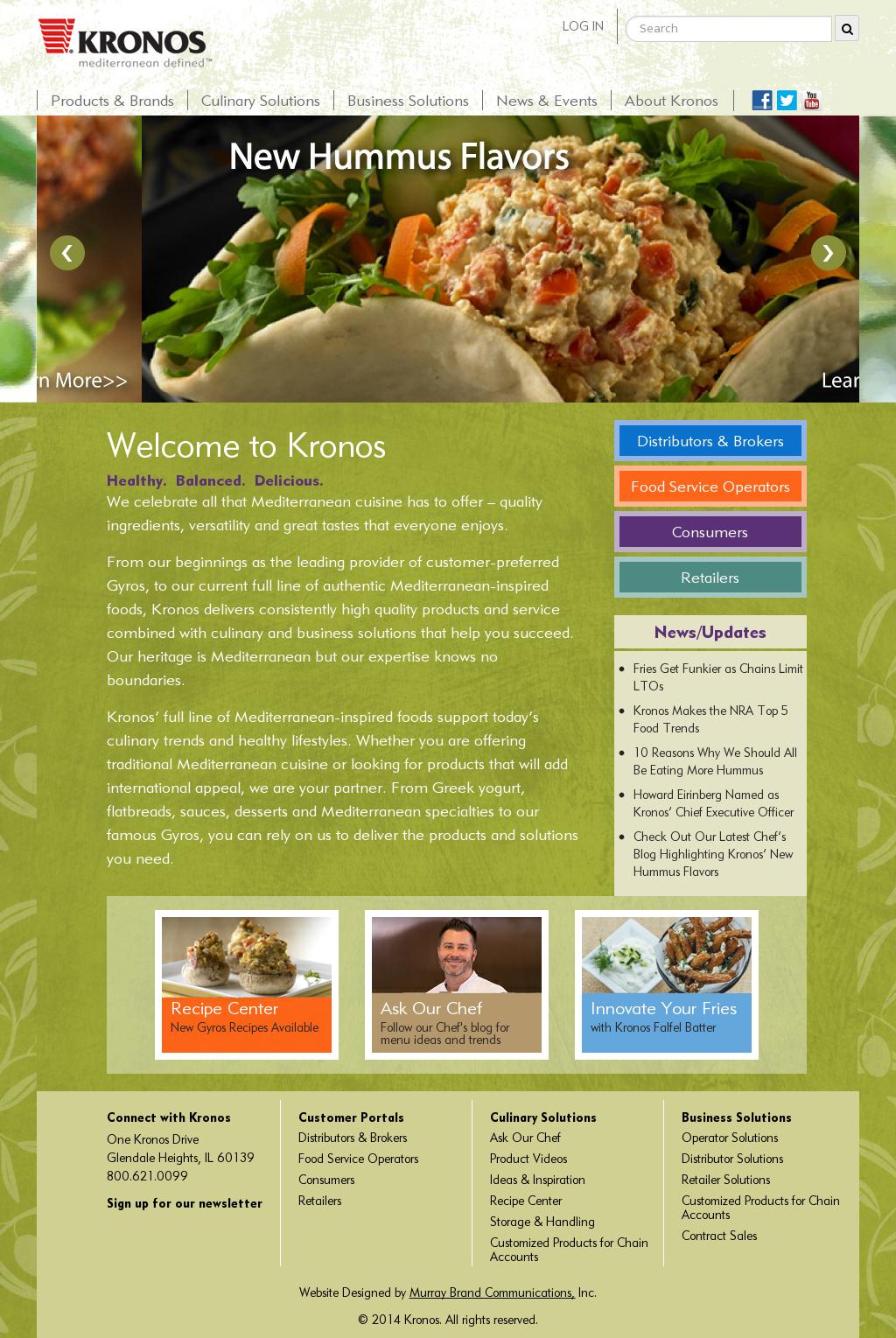 Kronosfoodsinc Competitors, Revenue and