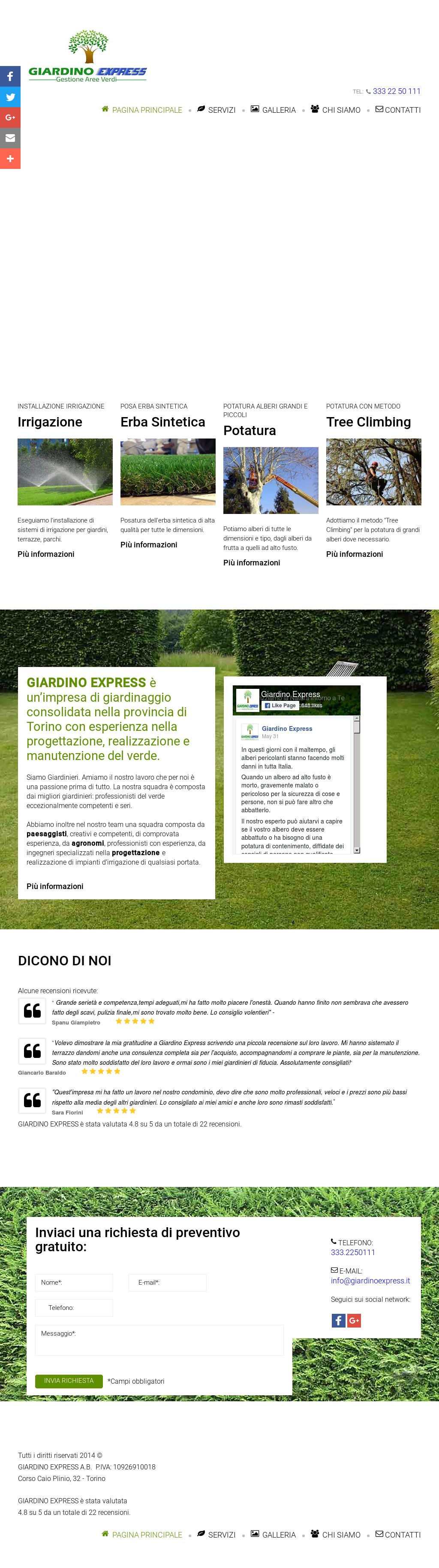 Grandi Alberi Da Giardini giardino express competitors, revenue and employees - owler