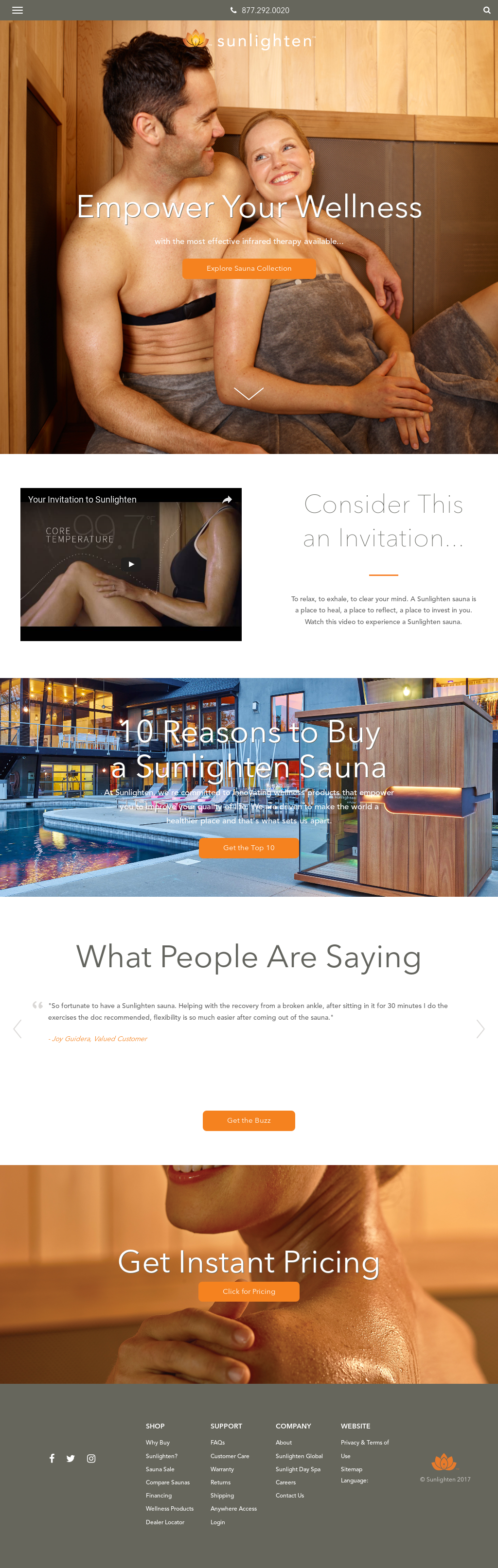 Sunlighten Saunas Competitors Revenue And Employees Owler Company