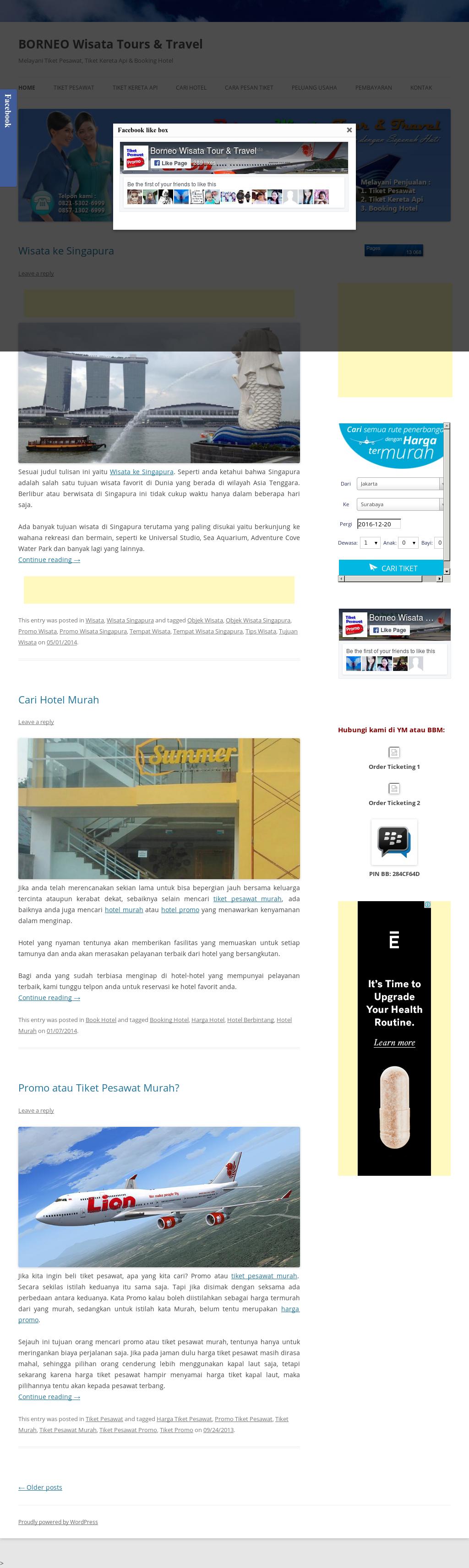 Borneo Wisata Tour Travel Competitors Revenue And Employees Adventure Cove Waterpark Singapore Dewasa Tiket Owler Company Profile