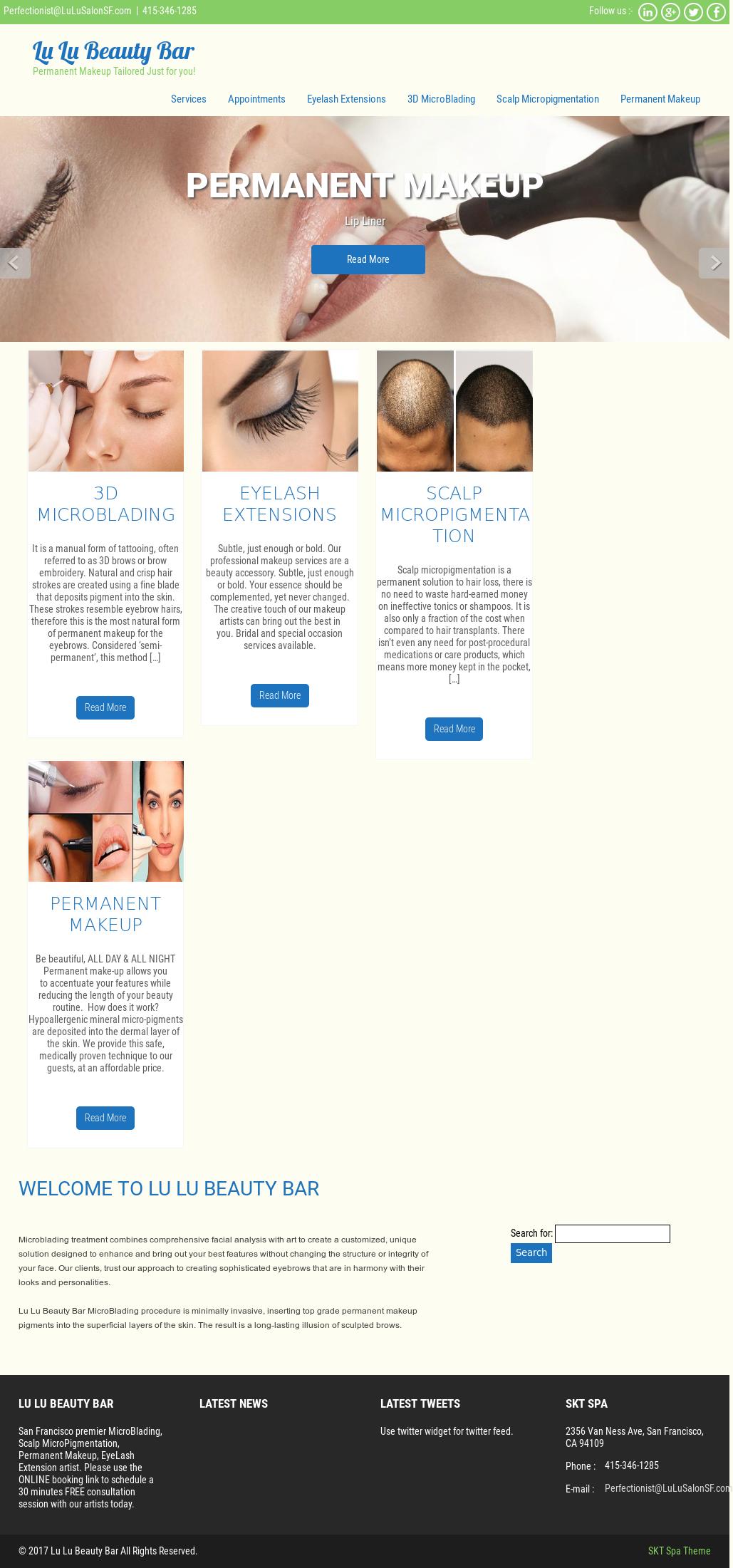 Lu Lu Salon Skin Care Competitors Revenue And Employees Owler