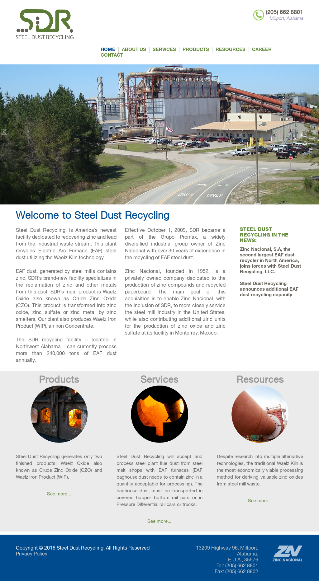 Steel Dust Recycling Competitors, Revenue and Employees