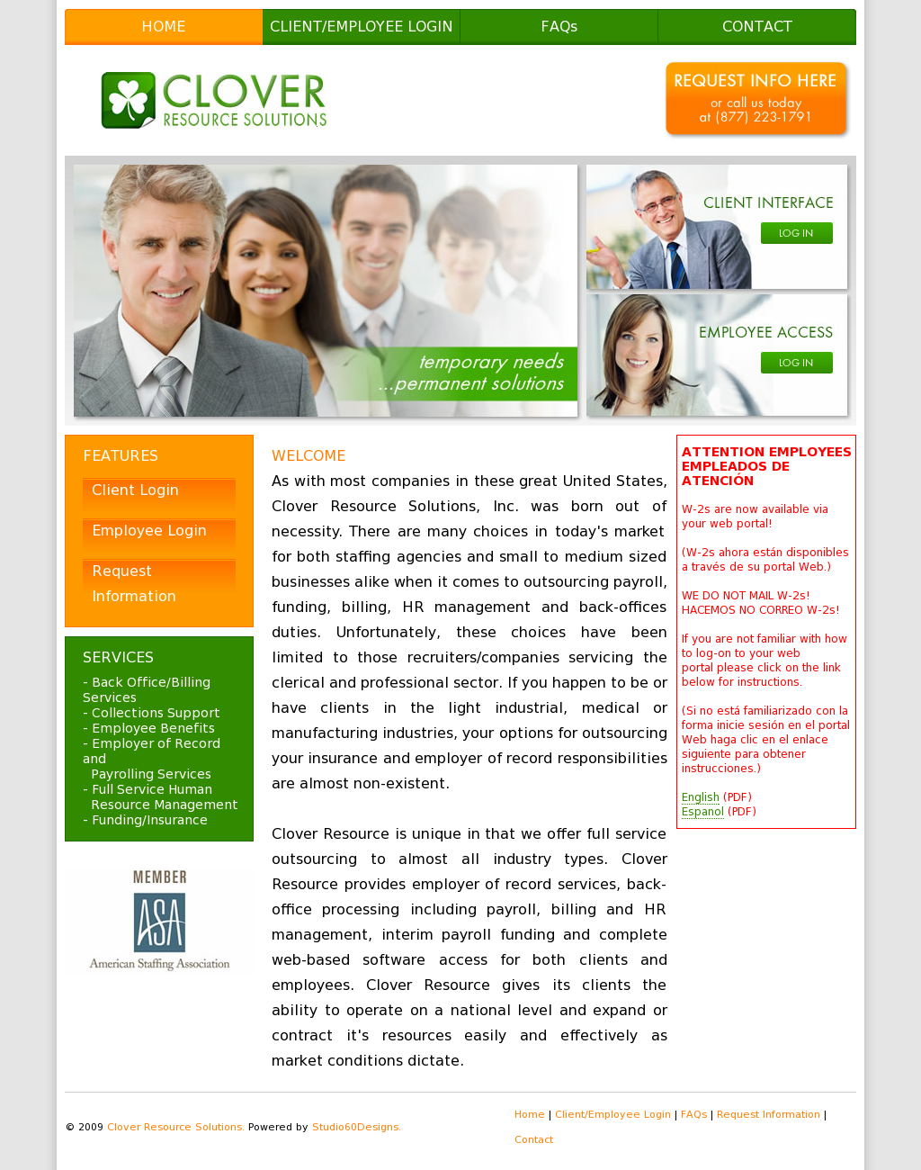 Clover Resource Solutions Competitors, Revenue and Employees - Owler