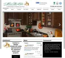 Master Woodcraft Cabinetry Website History