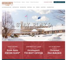 Hershey Lodge website history