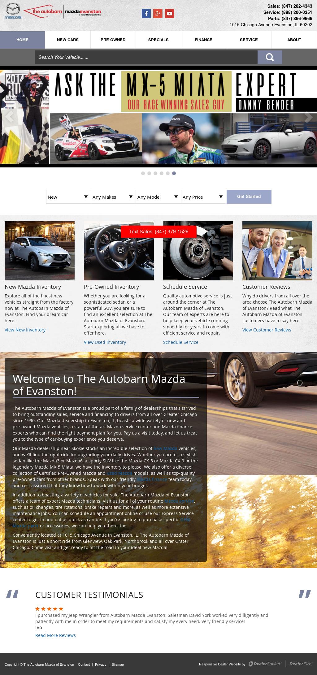 Autobarn Mazda Service - Ultimate Mazda