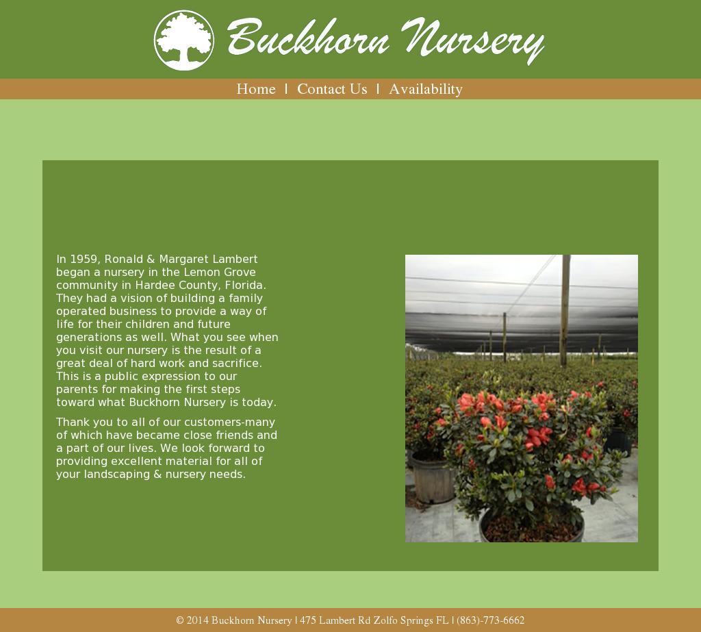 Buckhorn Nursery Compeors Revenue And Employees Owler Company Profile