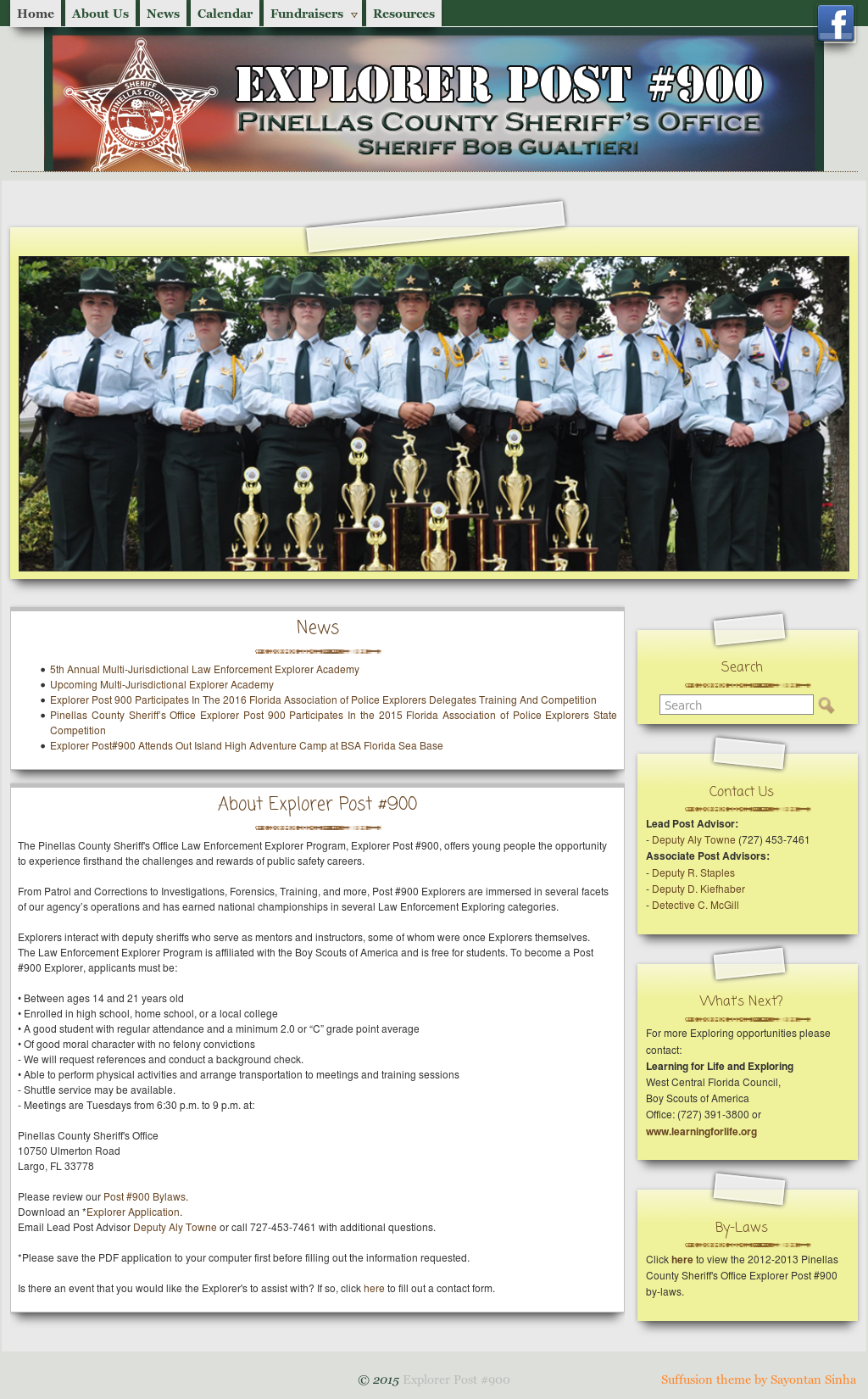 Pinellas County Sheriff's Office Explorer Post #900