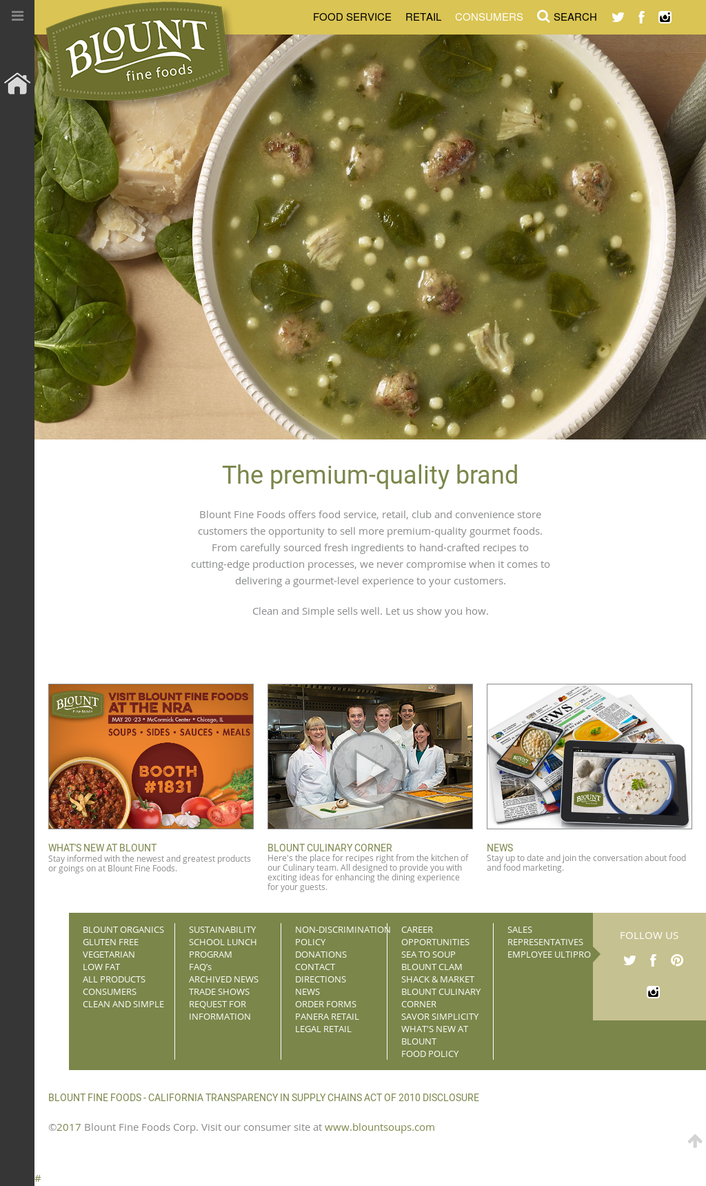 Blount Fine Foods Competitors, Revenue and Employees - Owler Company ...