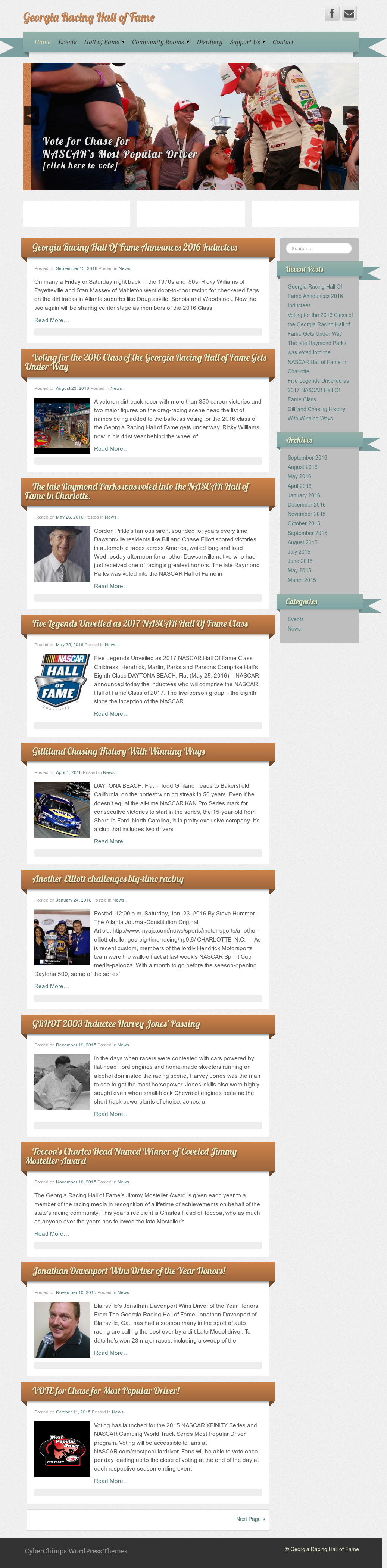 Georgia Racing Hall Of Fame Grhof S Competitors Revenue Number Of Employees Funding Acquisitions News Owler Company Profile
