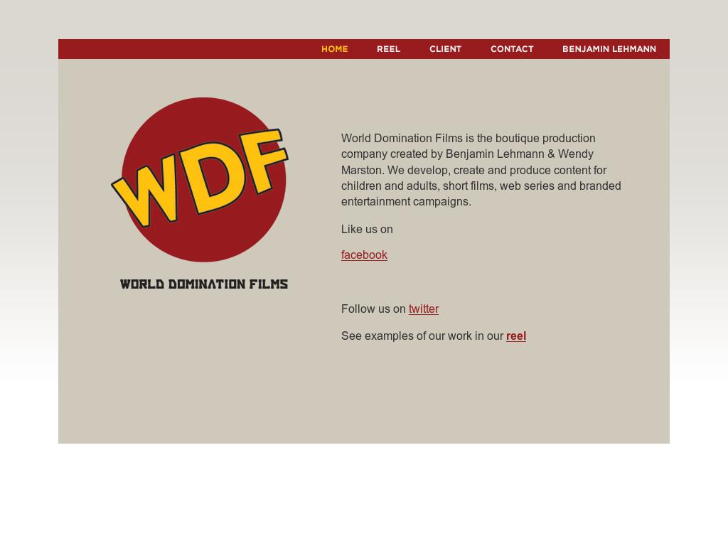 World domination website think