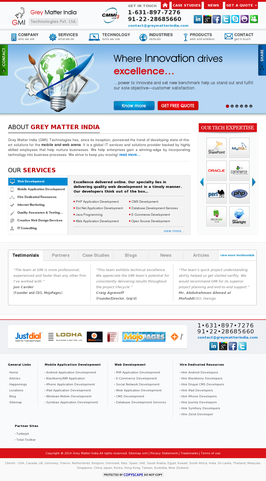 Grey Matter India Competitors, Revenue and Employees - Owler Company