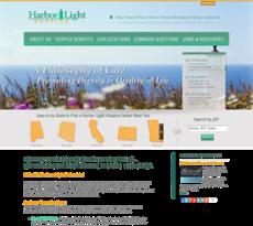 Harbor Light Hospice Website History
