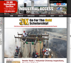 Industrial Access website history