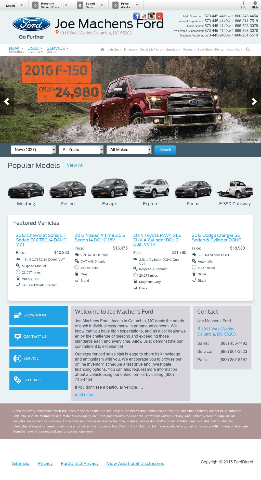 Joe machens ford competitors revenue and employees for Ford motor company employee website