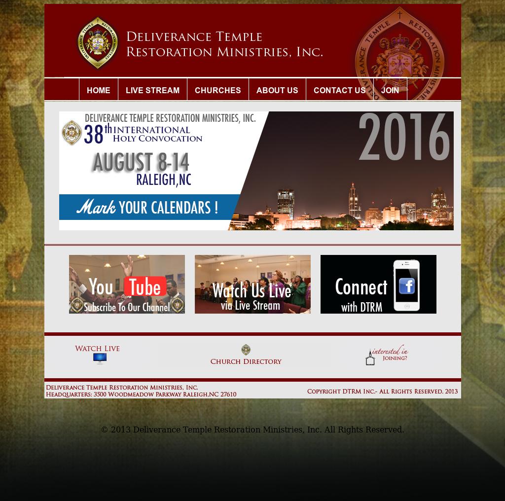 Deliverance Temple Restoration Ministries Competitors