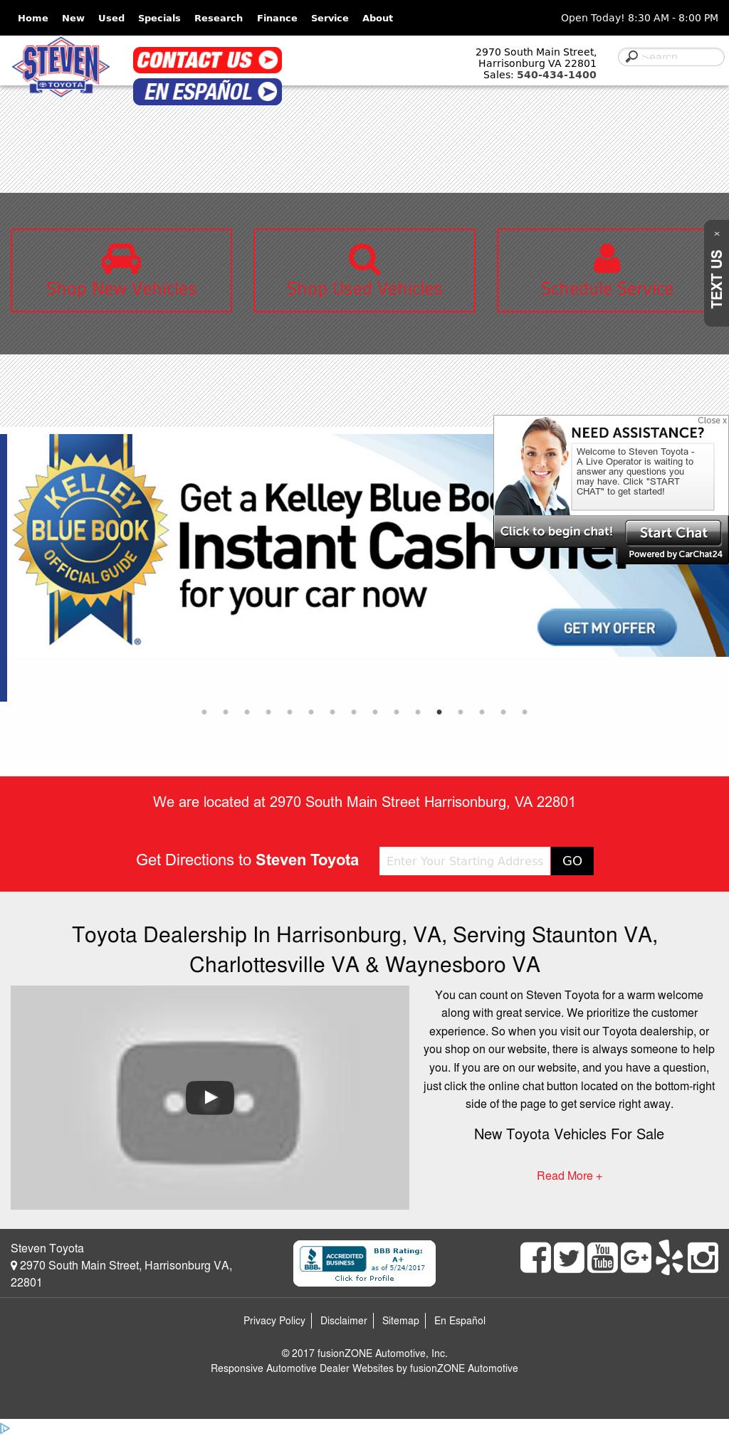 Steven Toyotau0027s Website Screenshot On May 2017