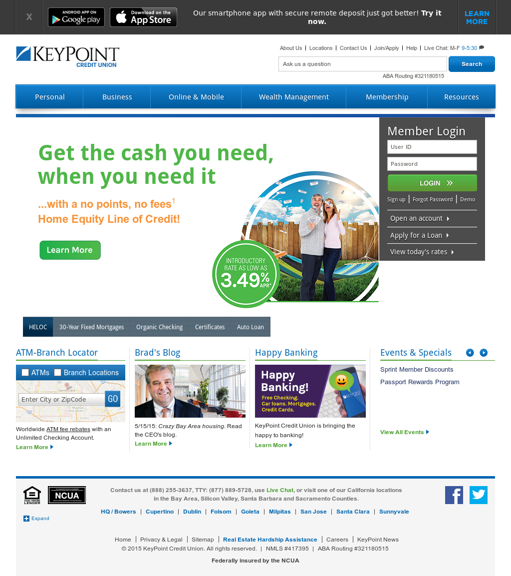 keypoint credit union competitors, revenue and employees - owler
