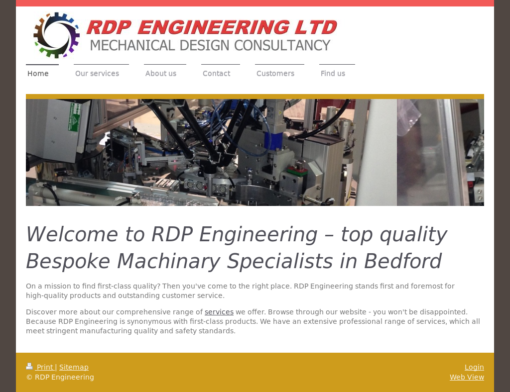 Rdp Engineering Competitors, Revenue and Employees - Owler