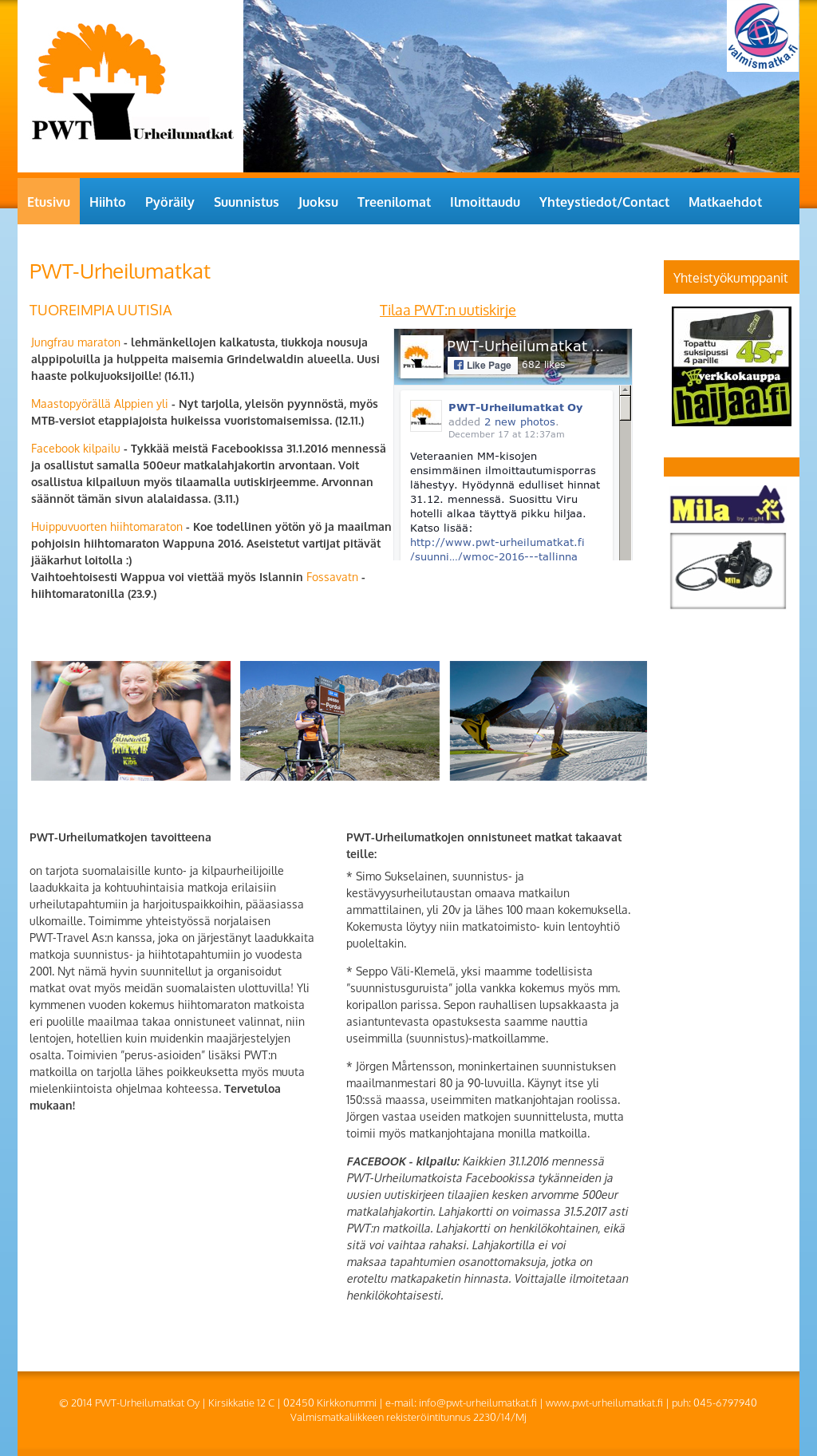 Pwt-urheilumatkat Oy Competitors, Revenue and Employees