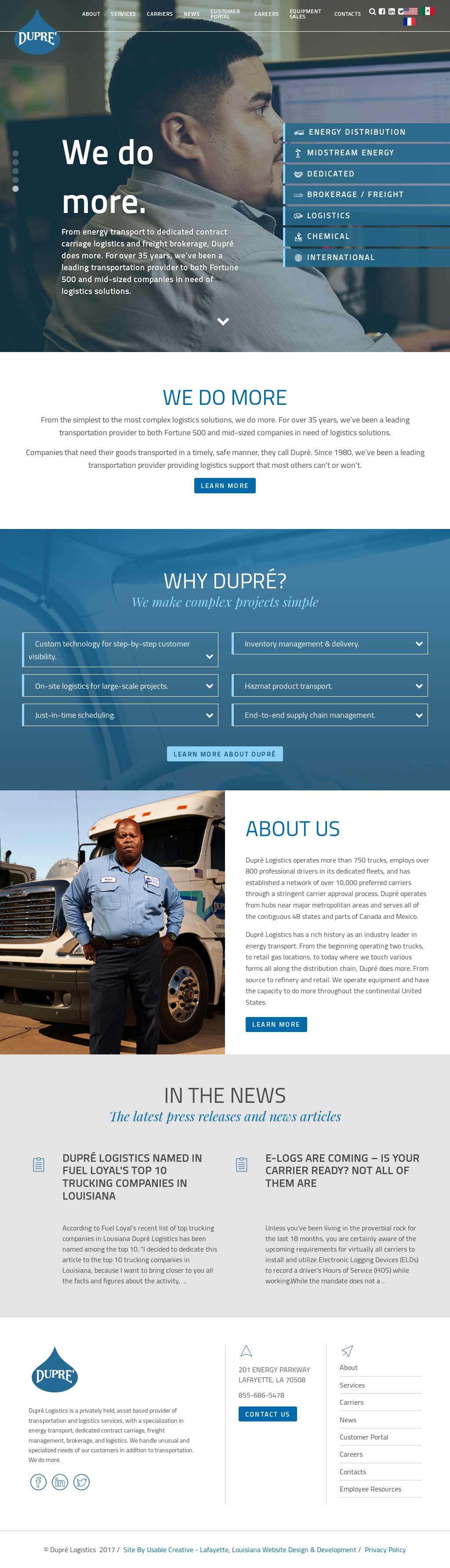 Dupre Logistics Competitors, Revenue and Employees - Owler